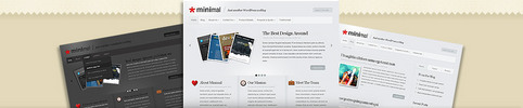 Thumbnail Download Minimal WordPress Theme