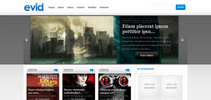 Thumbnail Download eVid Video WordPress Theme