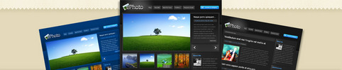 Thumbnail Download ePhoto WordPress Theme