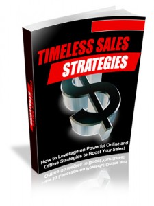Thumbnail Timeless Sales Strategies