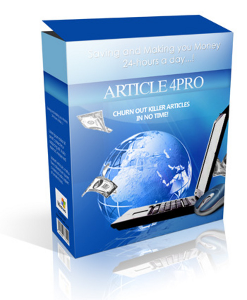 Product picture Download Article4Pro - Churn Out Killer Articles In No Time