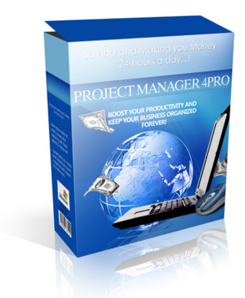 Product picture ProjectManager4Pro - Keep Your Business Organized Forever