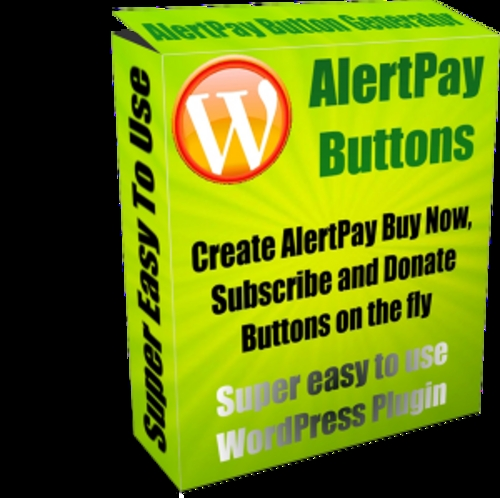 Product picture Download AlertPay Buttons Plugin With PLR
