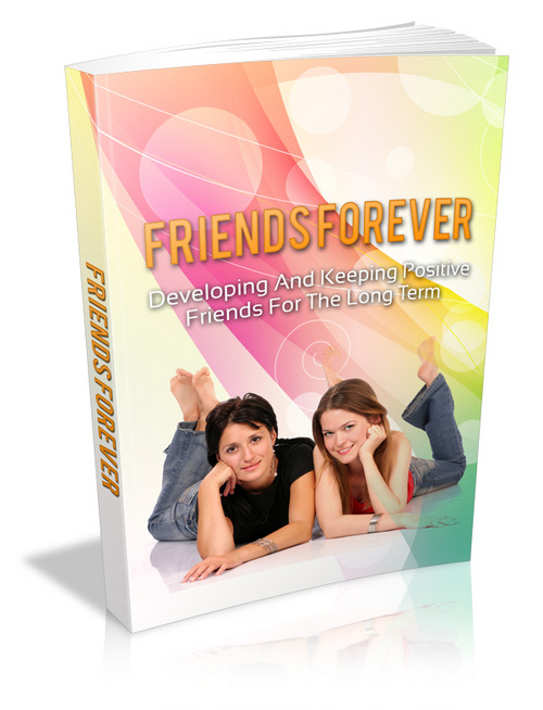 Product picture Friends Forever Ebook With PLR