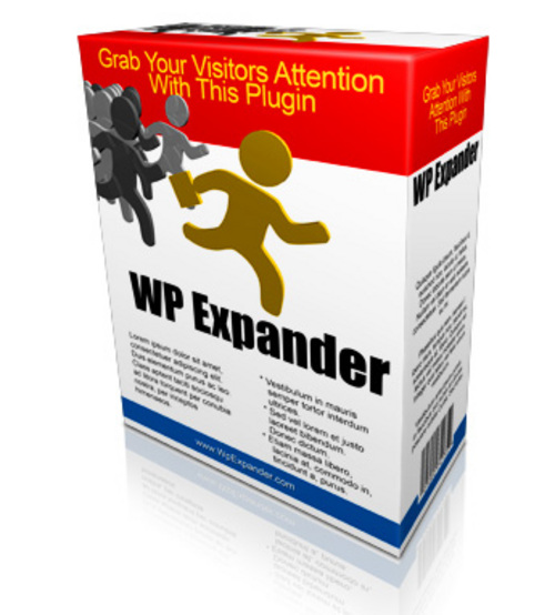 Product picture WP Expander WP Plugin With Resale Rights