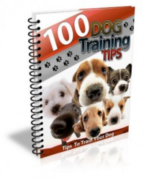Product picture Download 100 Dog Training Tips Ebook With PLR