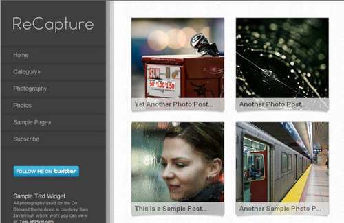 Product picture Re-Capture WP Premium Theme Download