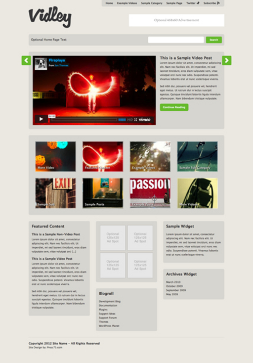 Product picture Vidley WP Premium Theme Download