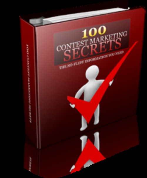 Product picture 100 Contest Marketing Secrets With Resale Rights