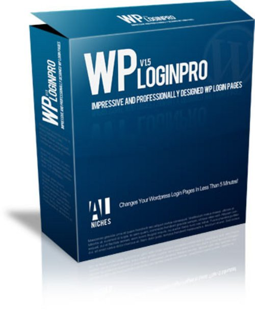 Product picture WP Login Pro - 20 Custom Designed Wordpress Login Pages